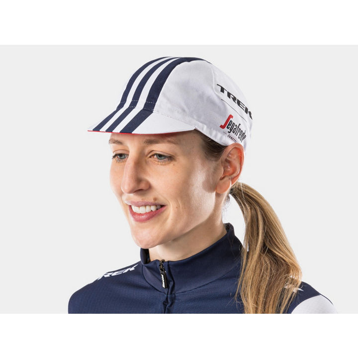 ヘッドウェア Santini Trek-Segafredo Cycling Cap One Size White - 1042056