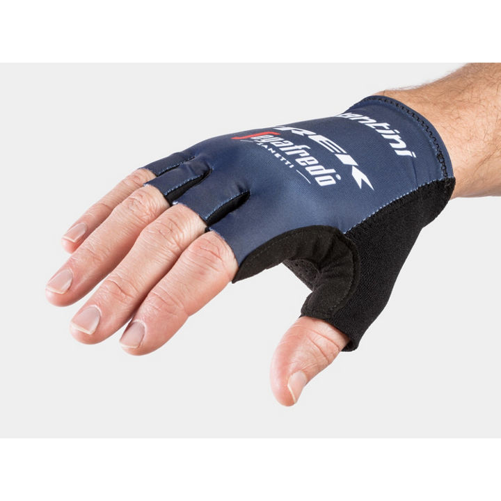 Glove Santini Trek-Segafredo Team Medium Dark Blue - 1042058