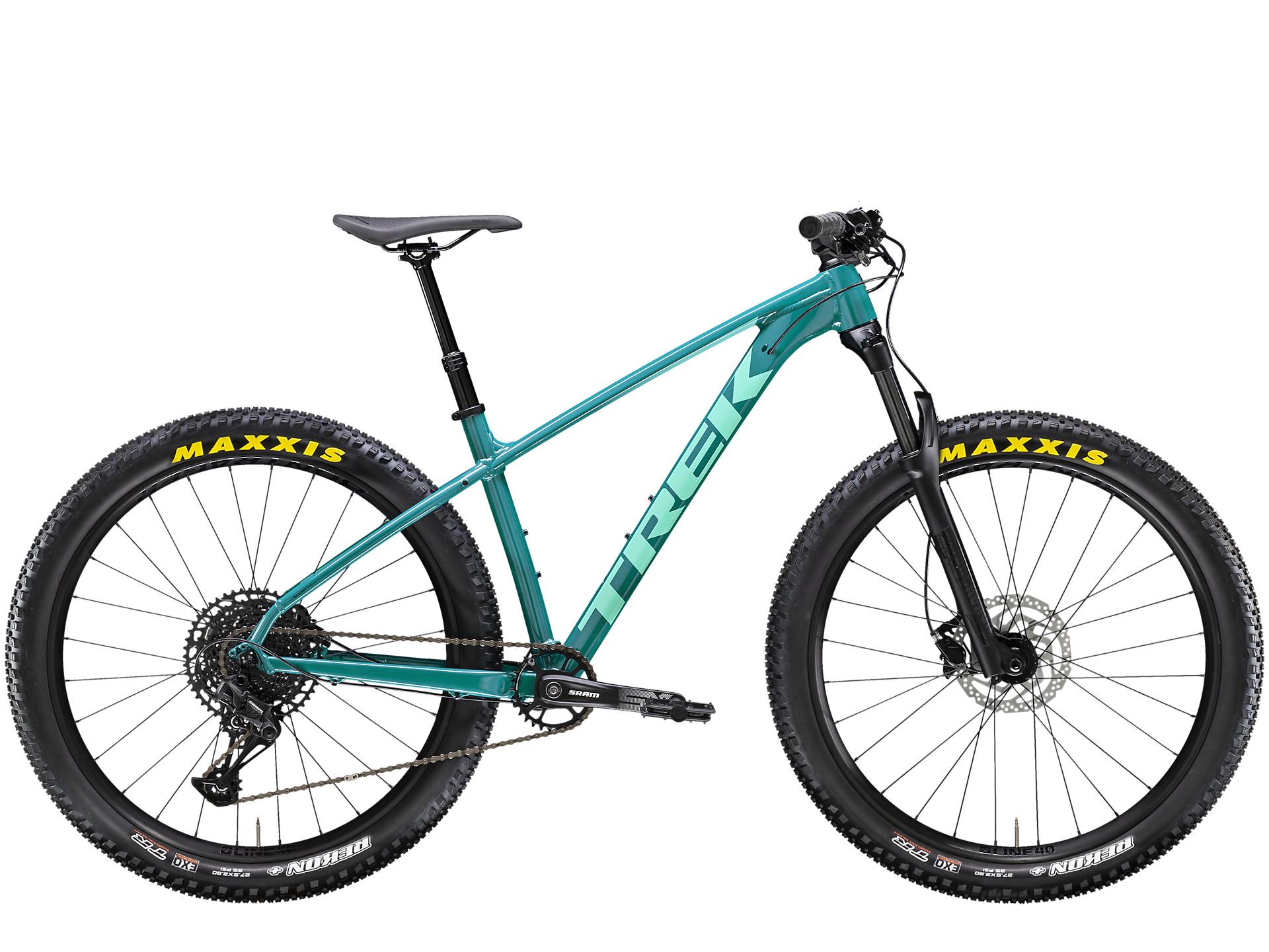 side facing roscoe 7 hardtail mountain bike
