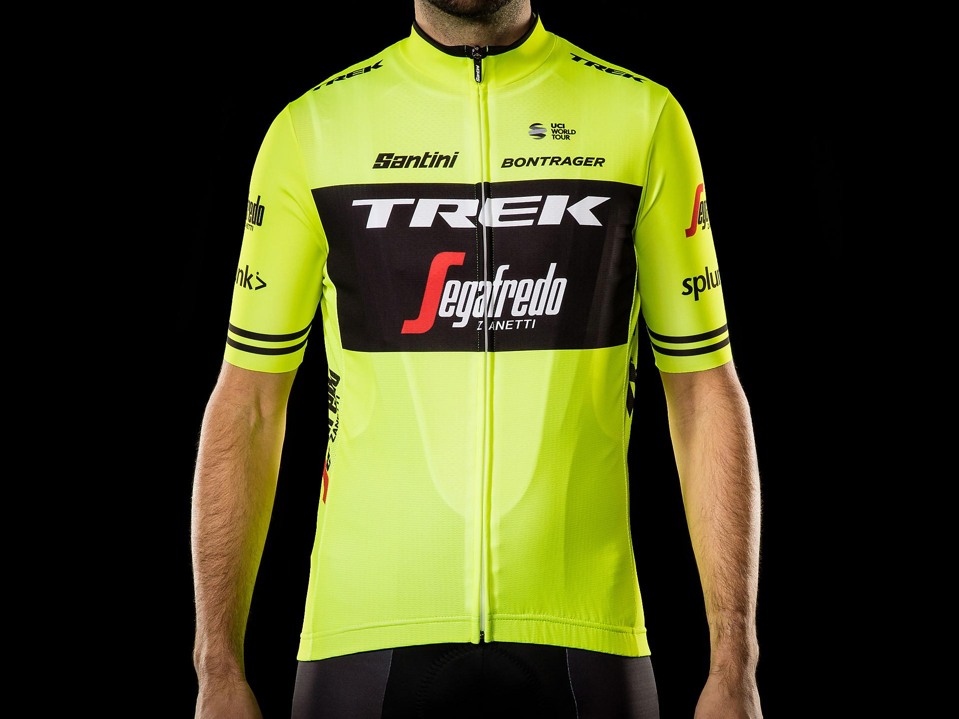 Santini Trek-Segafredo Men s Team Replica Cycling Jersey  f9fcd3107