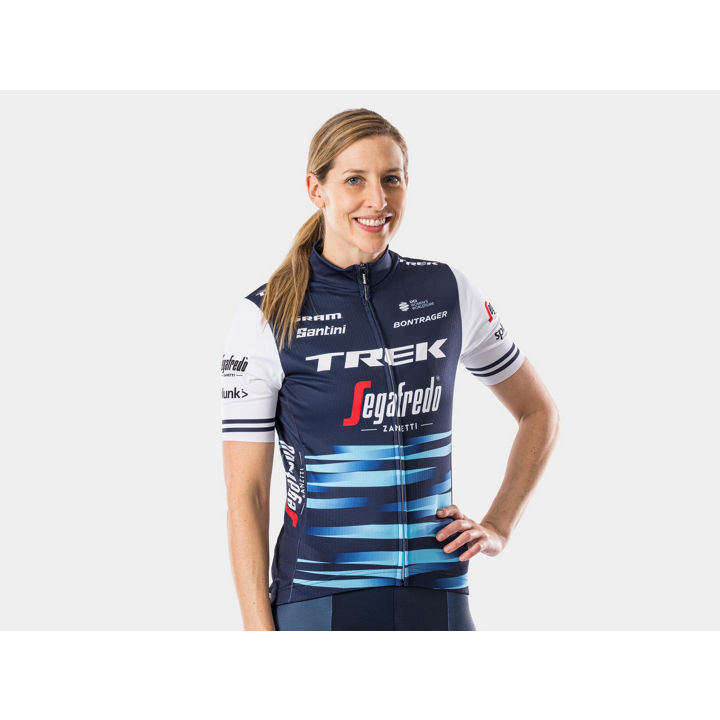 ジャージ Santini Trek-Segafredo Replica Women XS Blue/White - 1042006