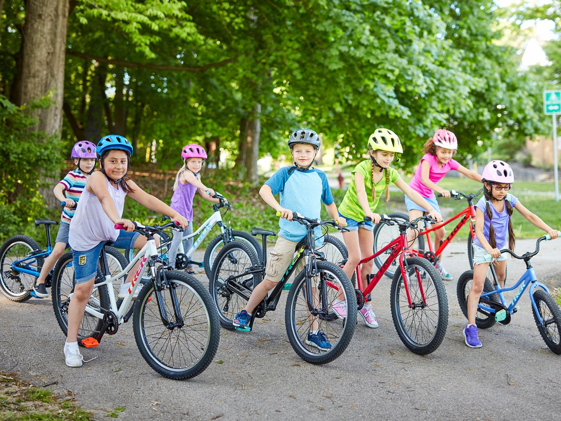 Image result for trek kids biking