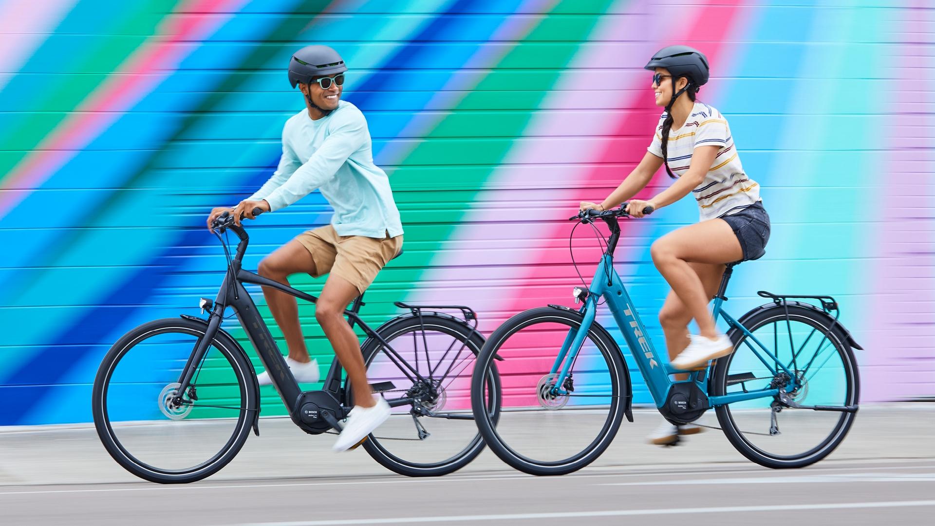 Image result for trek electric verve  biking
