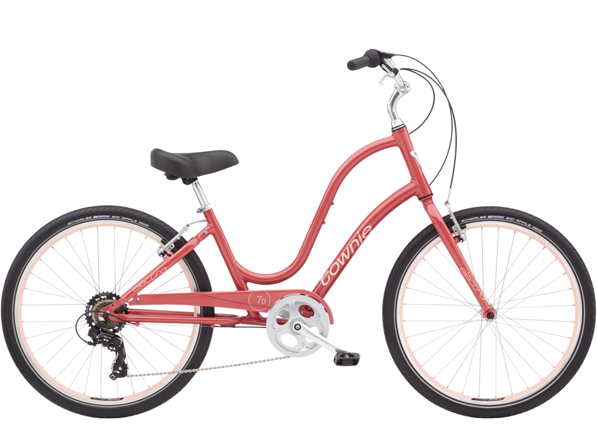 "OFO Cruiser City Bike 26/"" Step Through Aluminum Bicycle W// light lock"