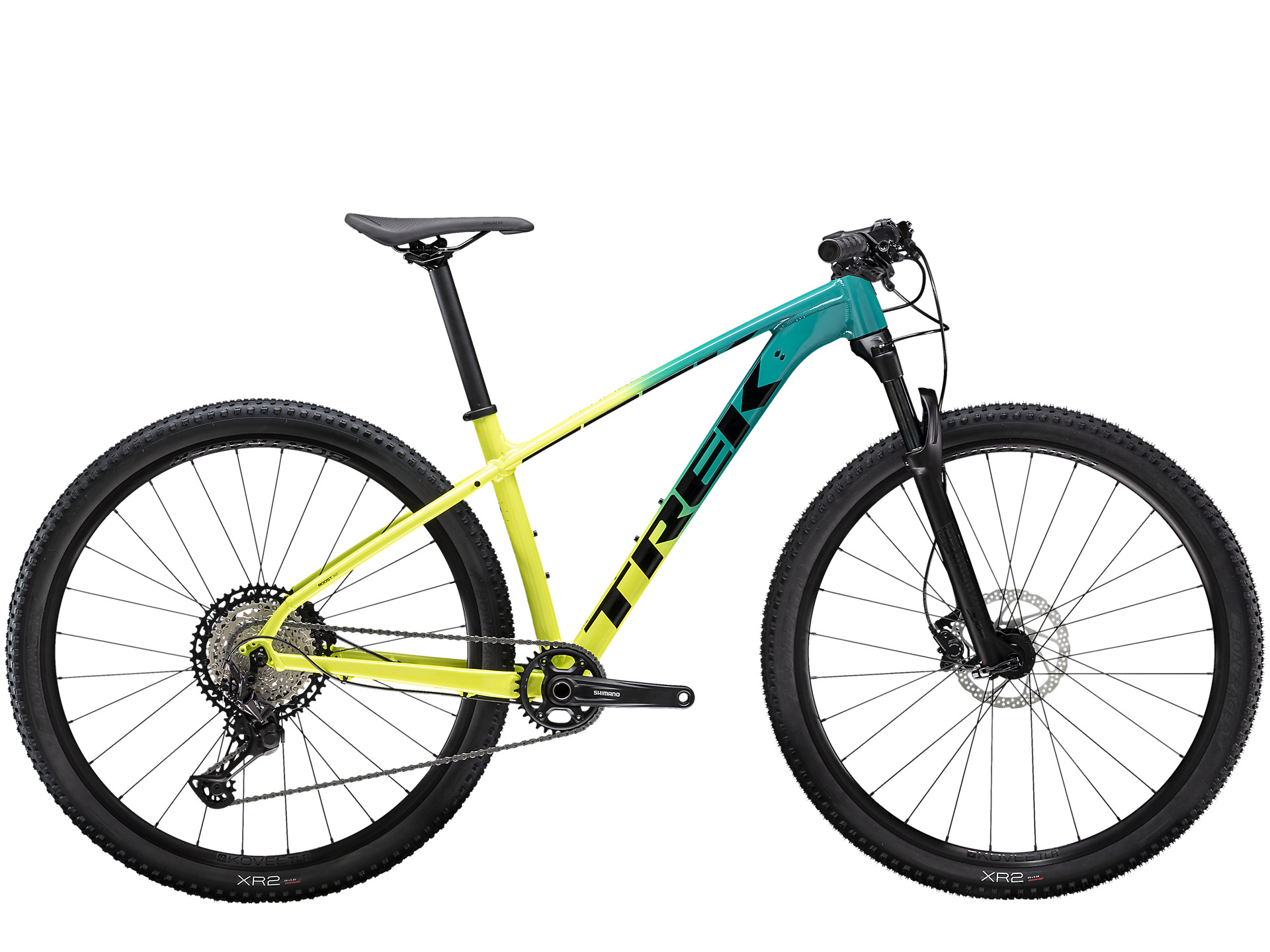 side facing x-caliber 9 mountain bike