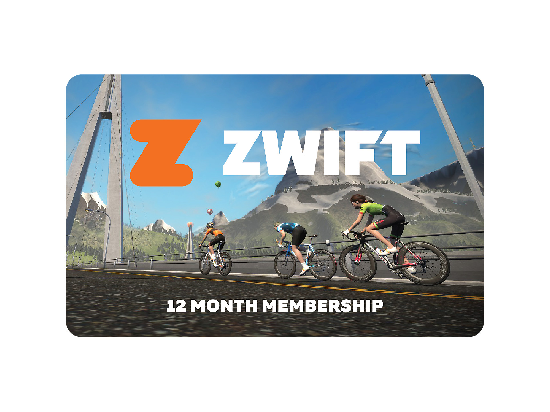 Zwift Membership Card - 12 month   Trek Bikes