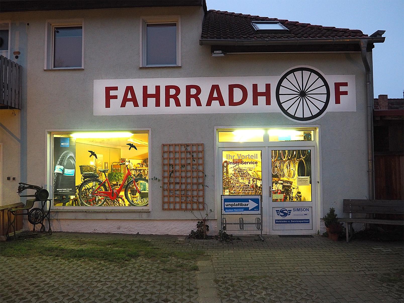 Tessiner Fahrradhof