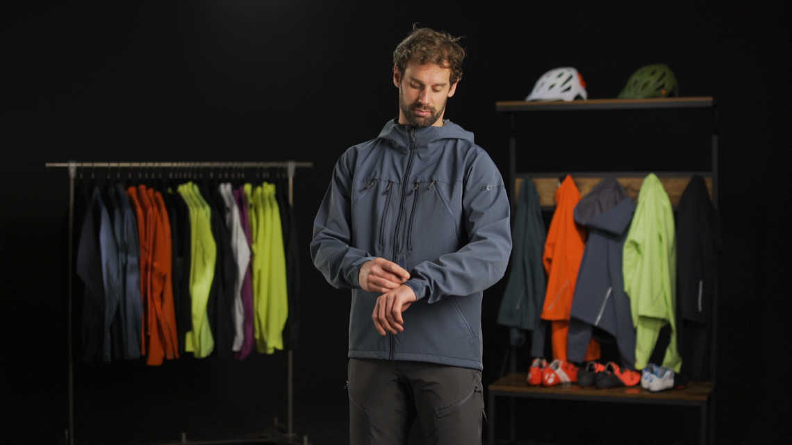 OMW Softshell Jacket Product Overview