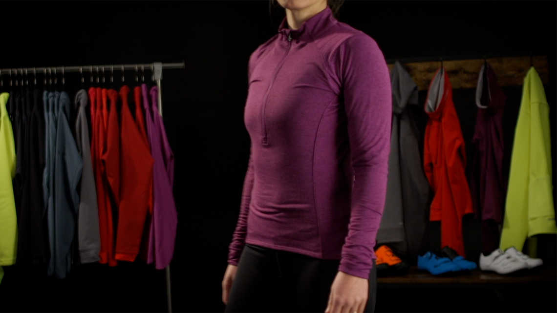 Vella Women's Long Sleeve Thermal Jersey Product Overview