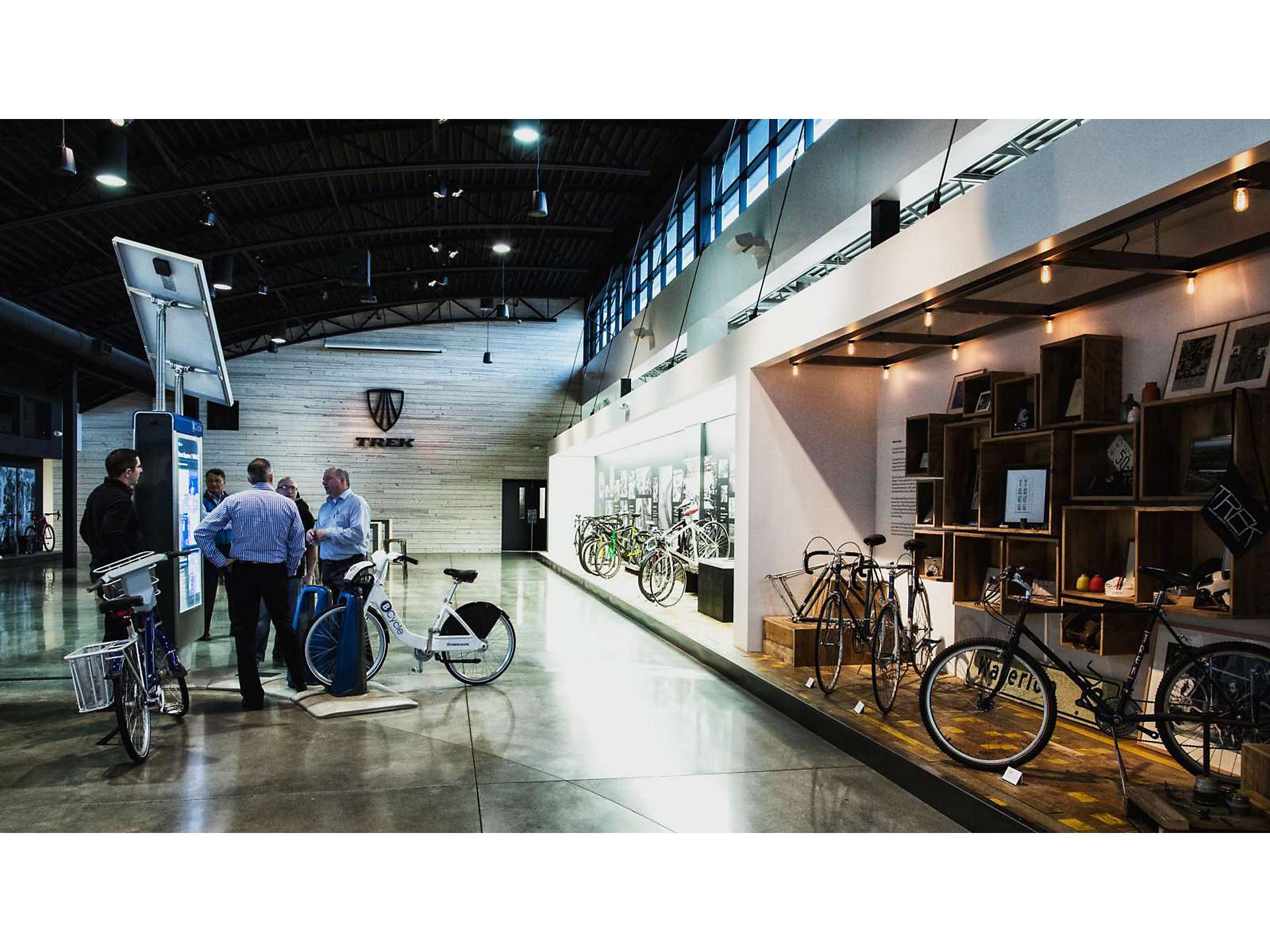 Visitor Tour Trek Bikes